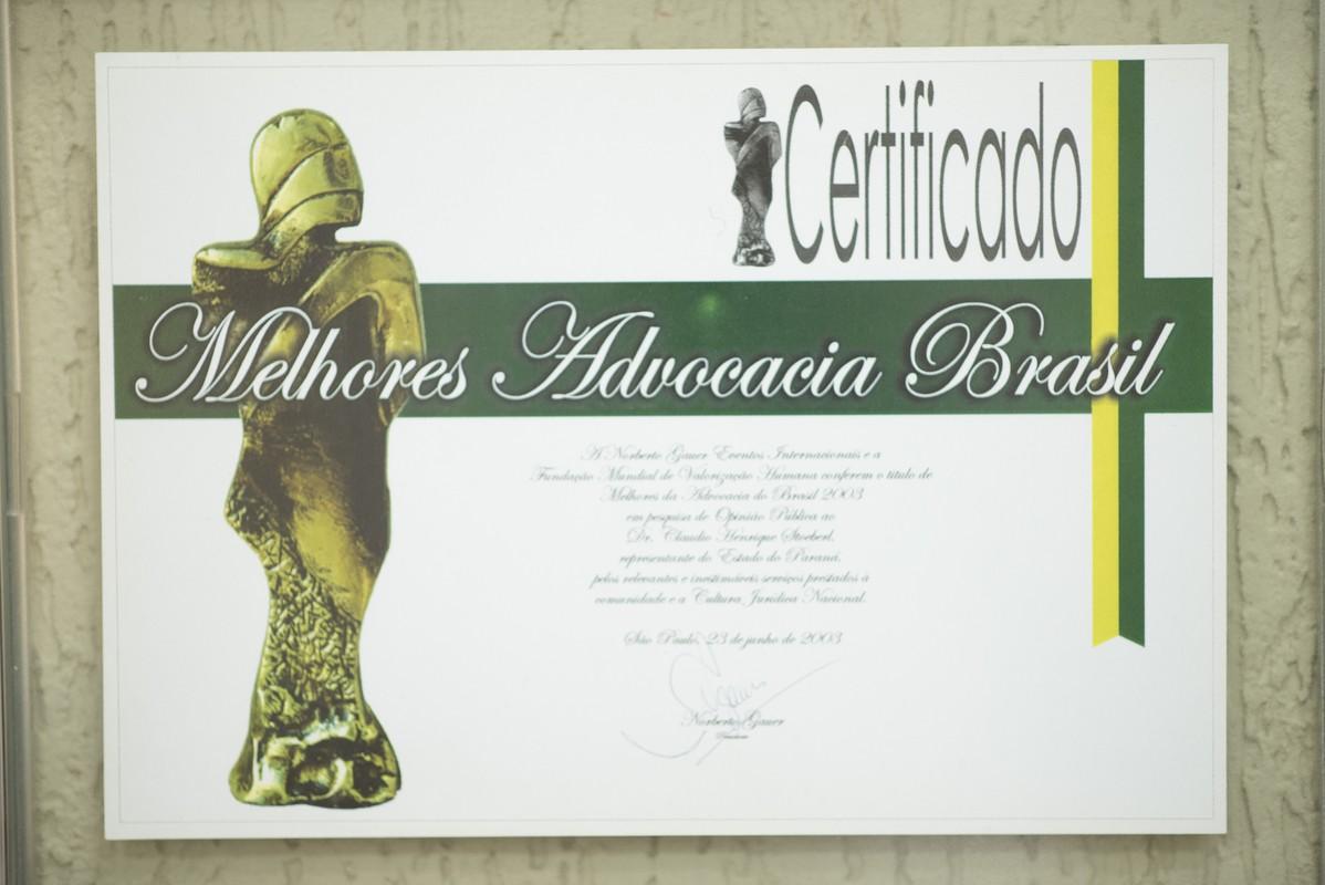 Troféu Melhores Advocacia Brasil
