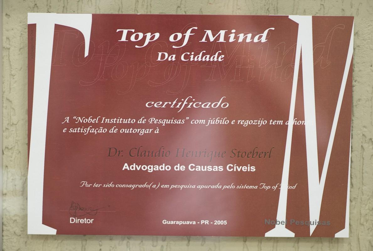Top of Mind da Cidade