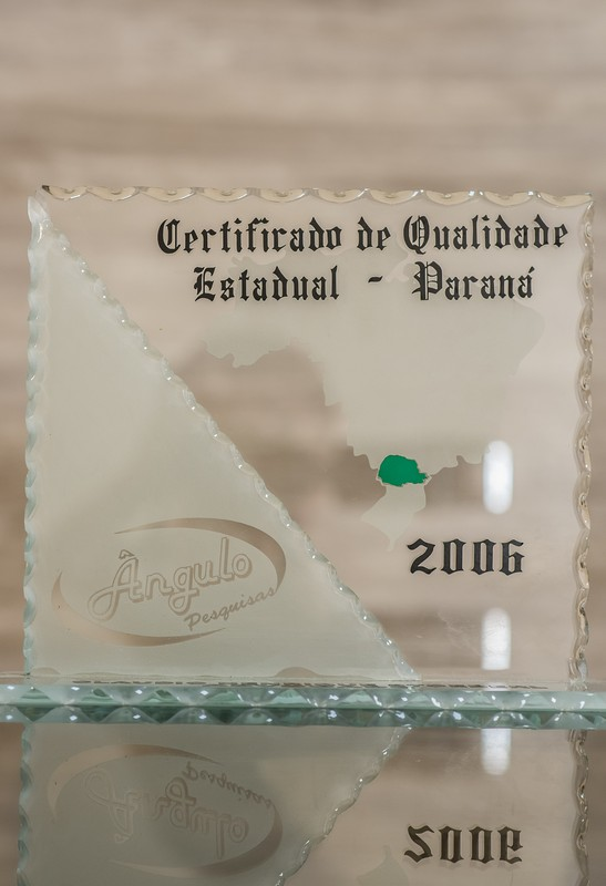 Certificado de Qualidade Estadual - Paraná